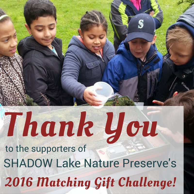 Thank you to everyone who participated in the 2016 Matching Gift Challenge