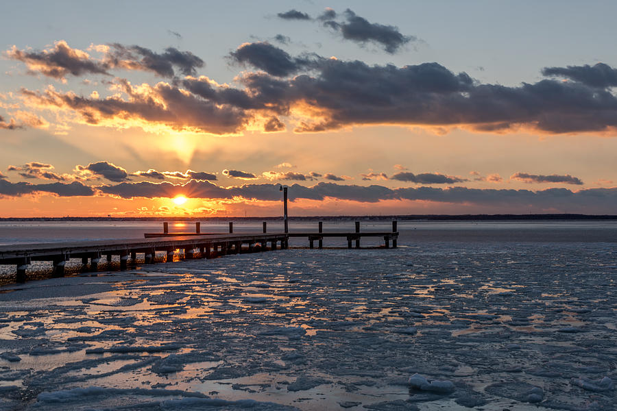 frozen-sunset-lavallette-new-jersey-terry-deluco