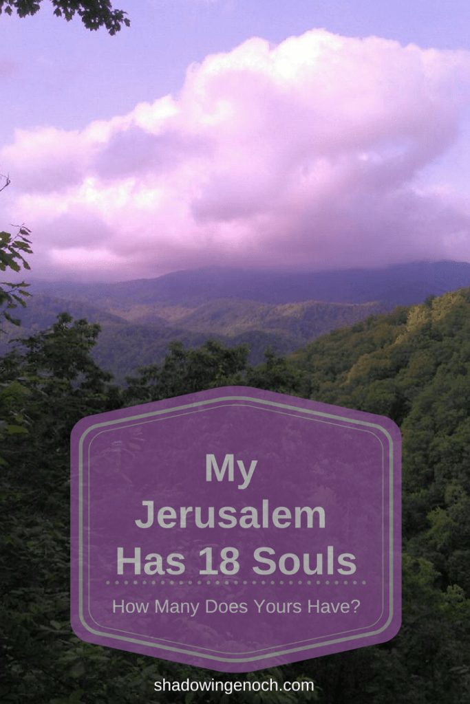 Jerusalem Judea Samaria Ends of the Earth | Jerusalem is a picture of our Core Ministry.  Mine has 18 souls.  | Family | Most important Ministry