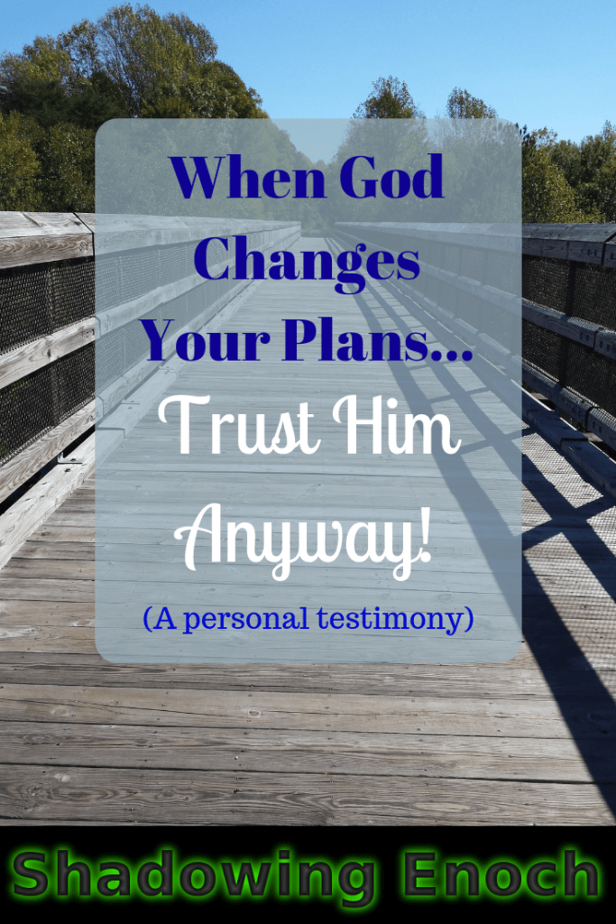 God's Sovereignty | Trusting God | Christian Life | Faith | Asthma | When God Changes Your Plans... Trust Him Anyway!
