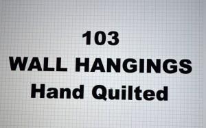 103-00.WALL HANGINGS