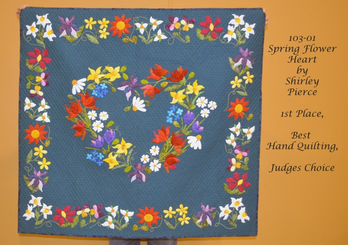 103-01 Spring Flower Heart