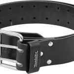 Makita Leather Work Belt Double Buckle