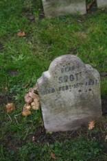 Spot's last resting place copyright Carole Tyrrell