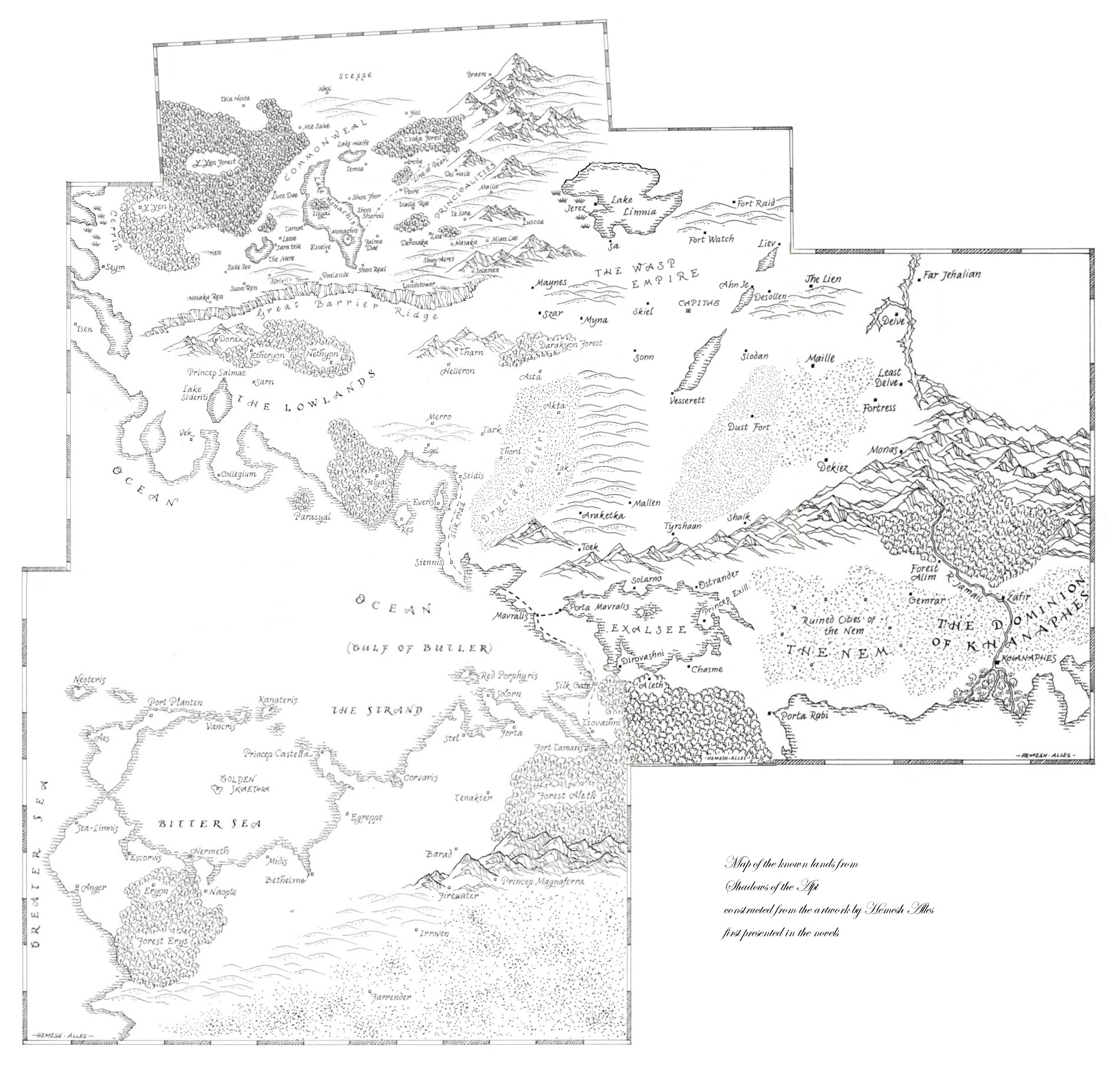 The Fantastique Collective The Bigass Fantasy Maps I