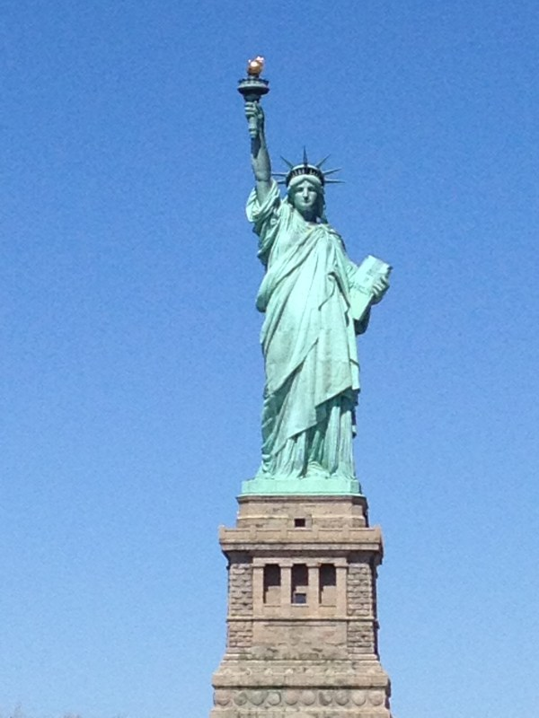 Statue of Liberty Made Of