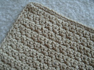 crochet dishcloth diy