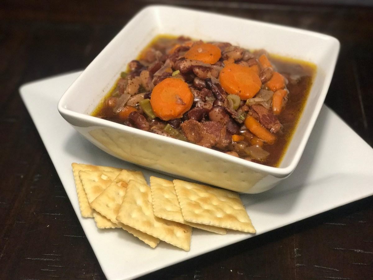 Jacob's Cattle Beans Soup