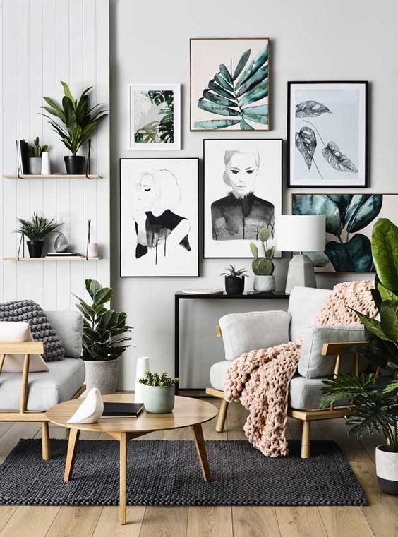 decoration for new apartments - living room