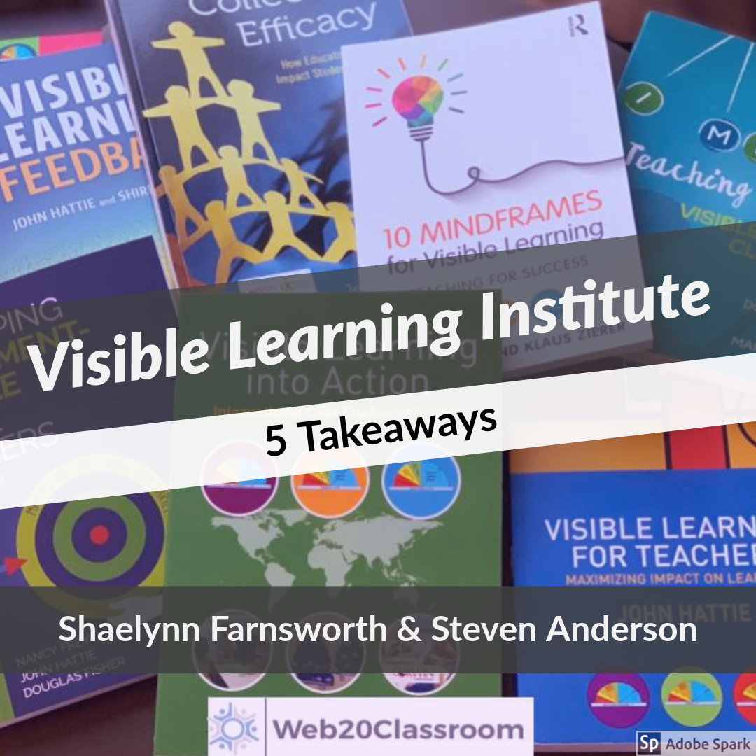 Top 5 Takeaways from Visible Learning Institute