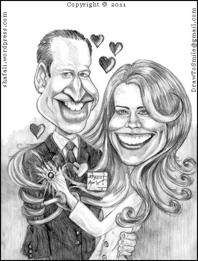 caricature cartoon prince william