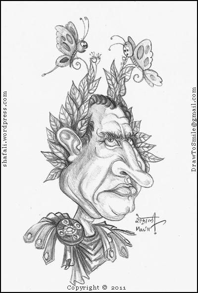 Caricature of Julius Caesar