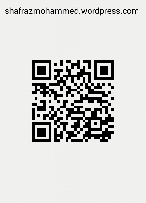 QR-code of my website