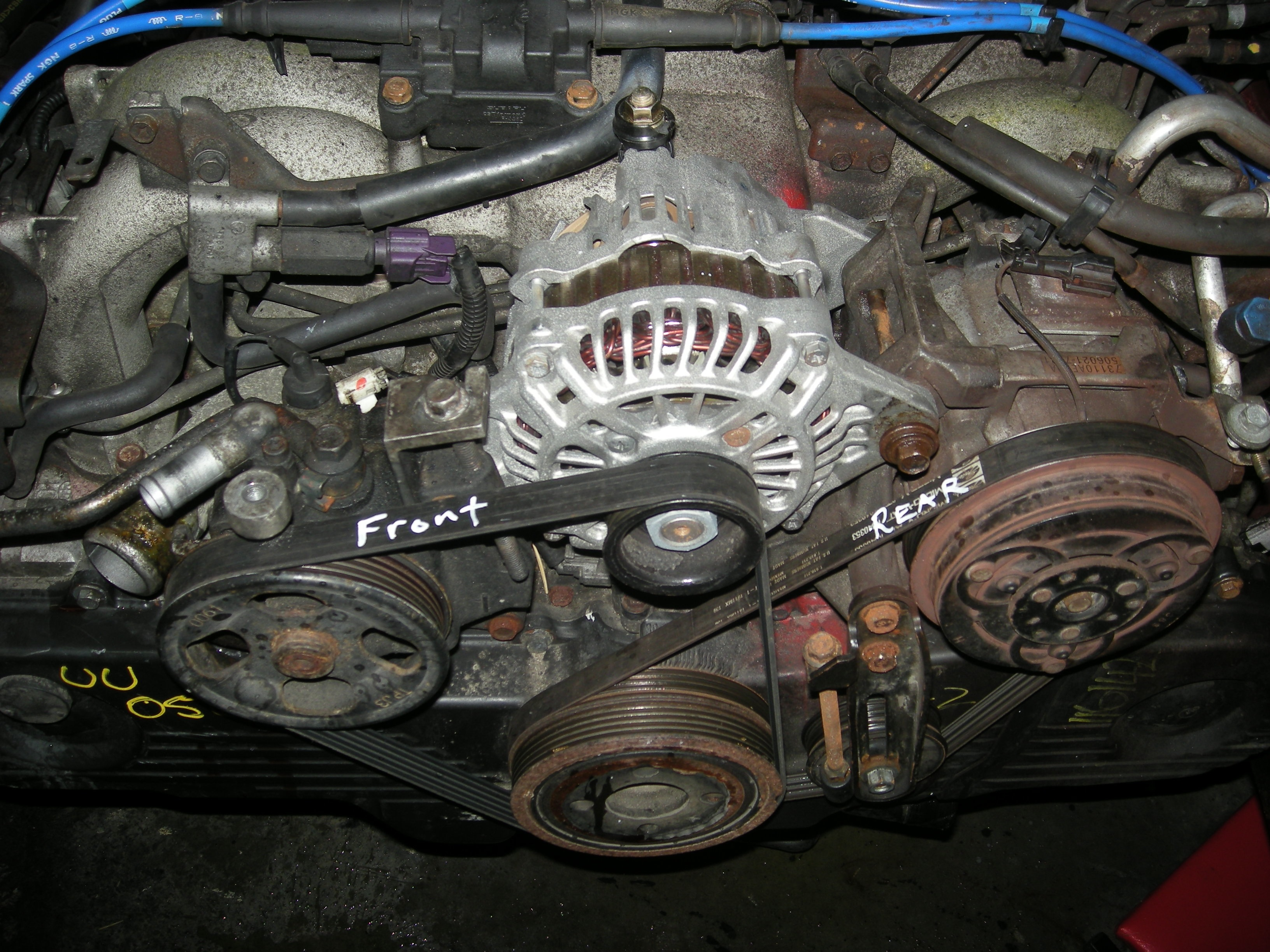 medium resolution of subaru boxer engine belt diagram wiring diagram source subaru 2 0 boxer engine diagram subaru boxer 4 engine fwd trans diagram