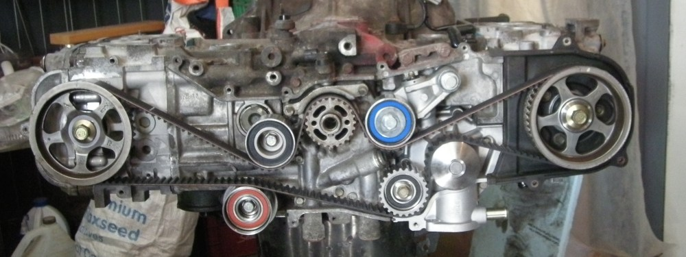 medium resolution of how to set timing timing belt change on a subaru sohc ej25 rh shagbarkblog wordpress com 2007 subaru impreza engine diagram subaru boxer engine diagram