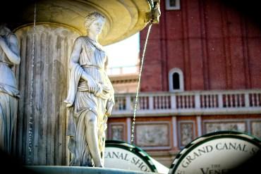 Fountain outside The Venetian