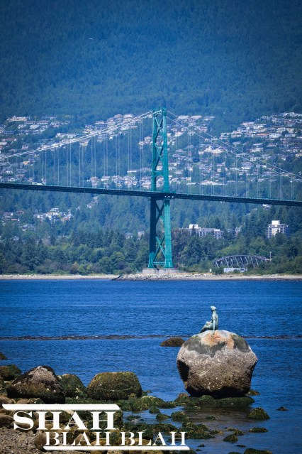 Lions Gate Bridge connecting South and North Vancouver