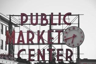 Seattle's famous Public Market Center