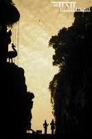 Top of Batu Caves in Kuala Lumpur
