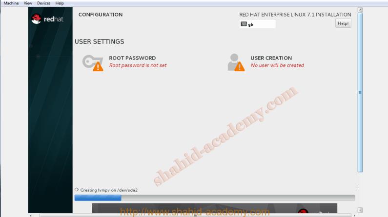 Red Hat Enterprise 7 Linux Installation guide
