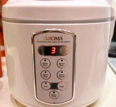 Rice Cooker/Slow Cooker/Steamer extraordinaire!