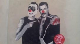 Mimi the Clown-Freddie Mercury