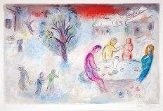 Chagall, illustrazioni per le Mille e una notte