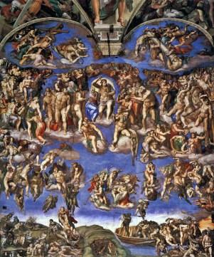 Michelangelo, Giudizio universale