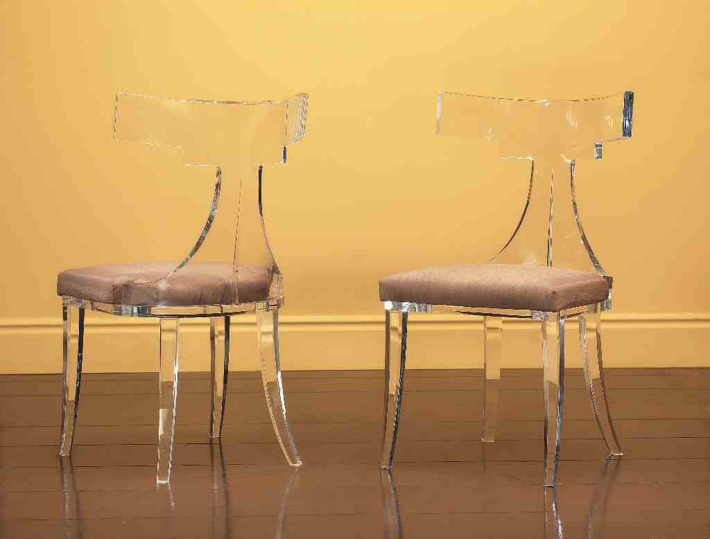 Plexiglass Chairs Fantasia Dining Chair Shahrooz Art