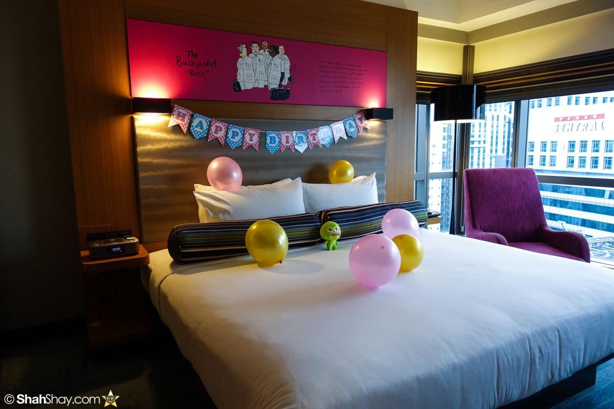 Hotel Kuala Lumpur - Aloft KL Sentral Breezy Suite - Bedroom