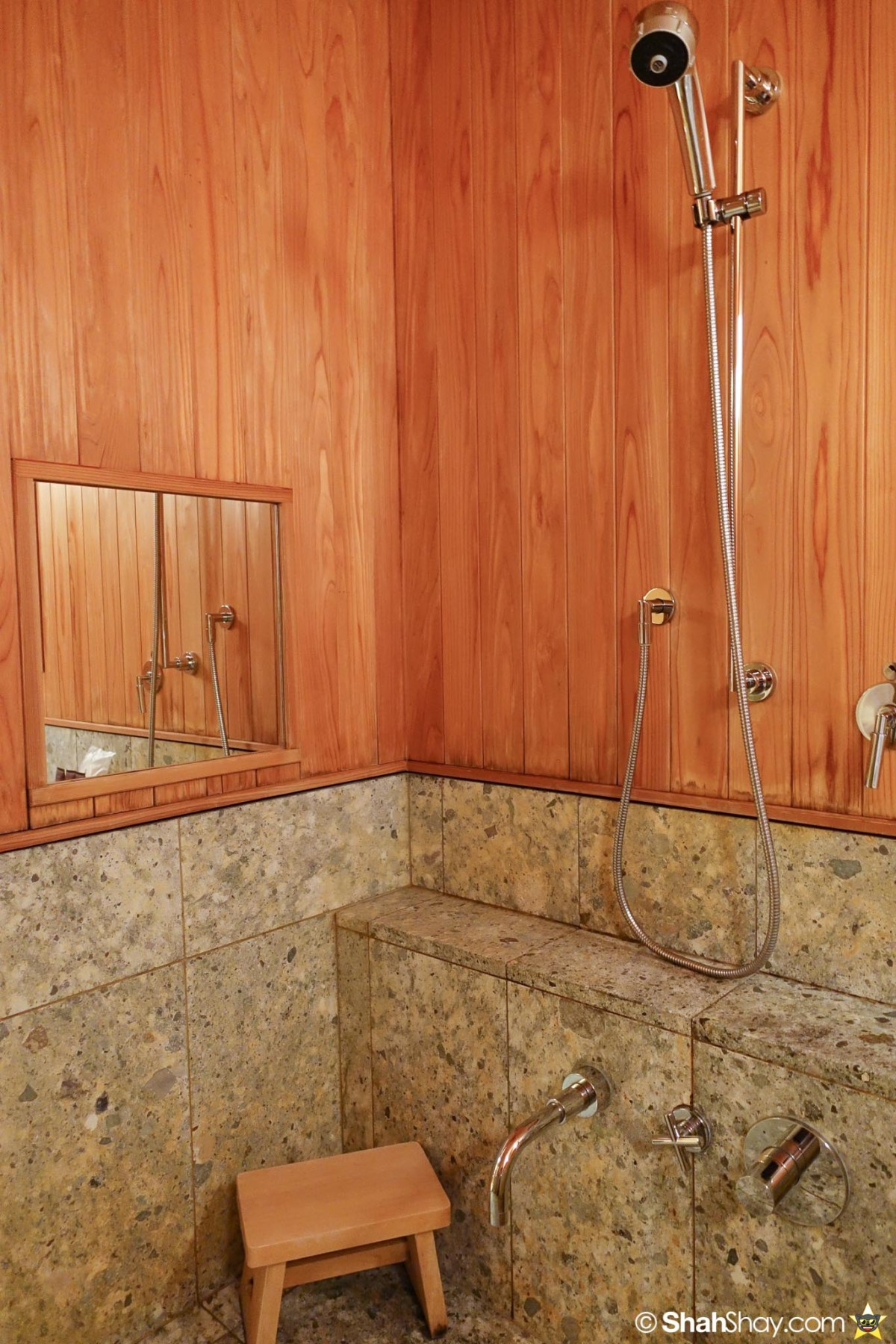 The Ritz-Carlton Tokyo Rooms - Modern Japanese Suite - Bathroom Shower