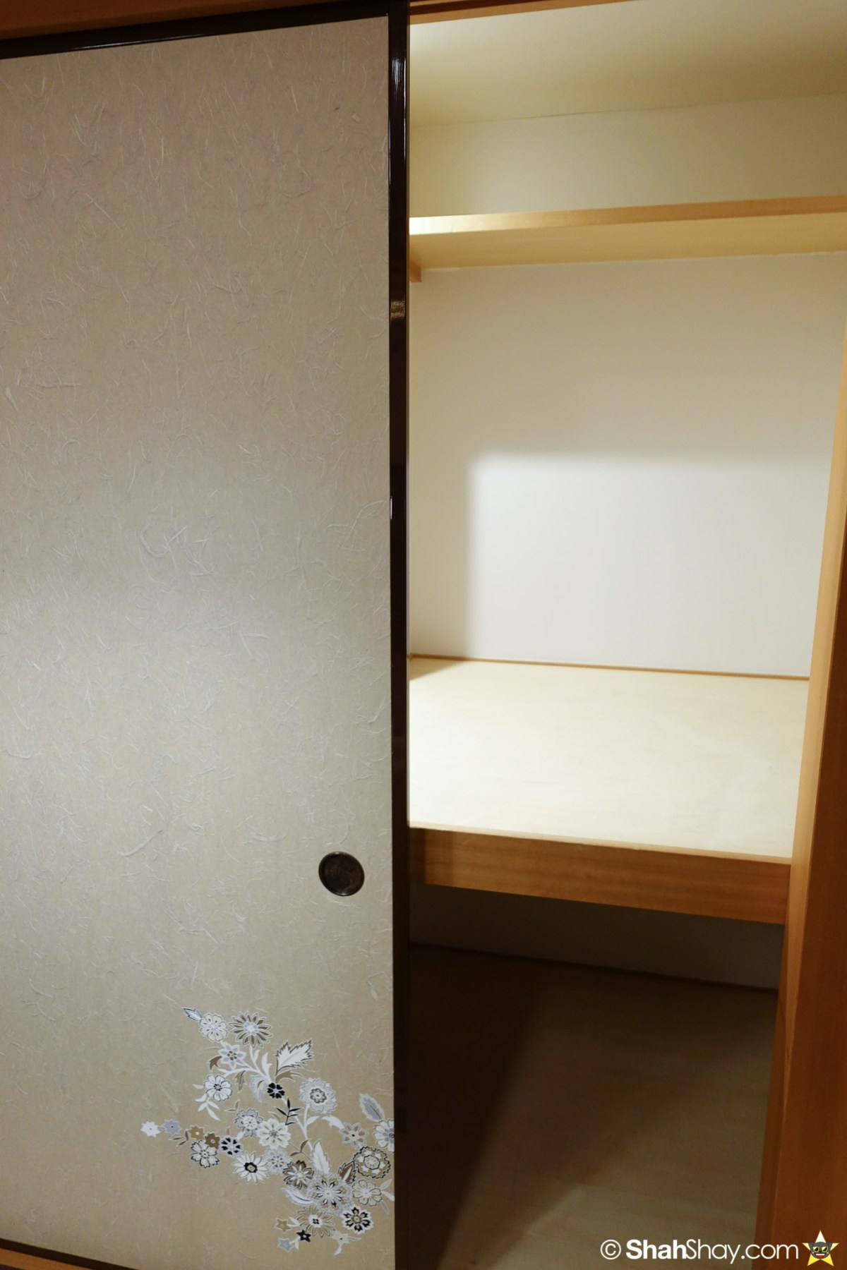 Ritz Tokyo Accommodation with so much storage space!