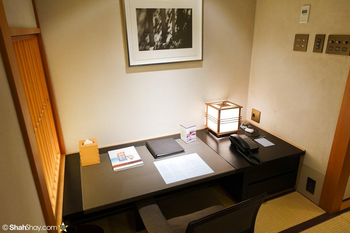 The Ritz-Carlton Tokyo Rooms - Modern Japanese Suite - Living Room Desk