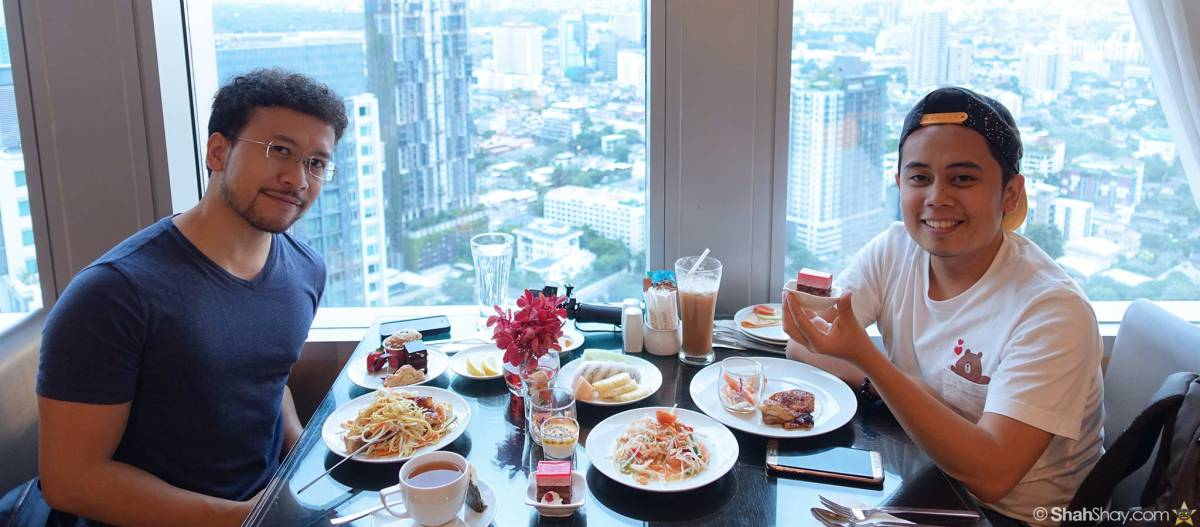 Free breakfast at Marriott Bangkok Sukhumvit with Marriott Rewards® Gold status courtesy of The Ritz-Carlton Rewards® Visa Credit Card