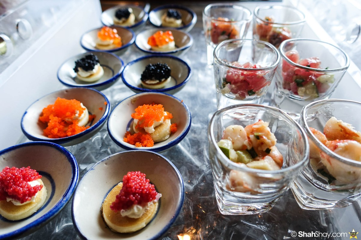 Sunday Brunch Bangkok - Fabulous Brunch Buffet Spread at The District - Caviars Fish Tartars