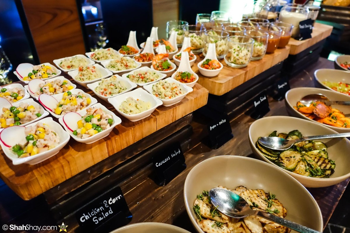 Sunday Brunch Bangkok - Fabulous Brunch Buffet Spread at The District - Salads