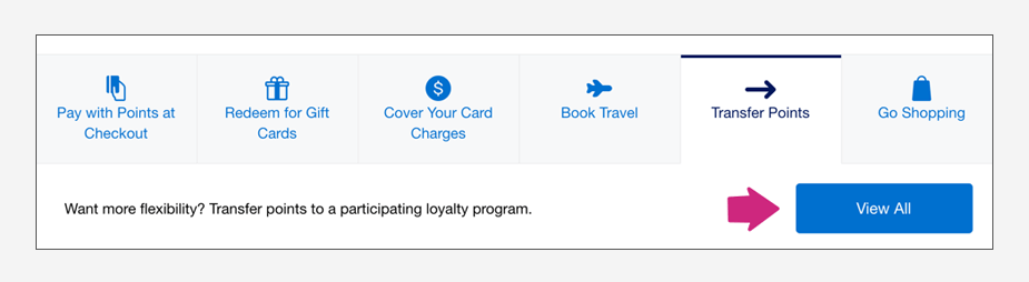 How to transfer American Express Membership Rewards to Avianca LifeMiles Step 3