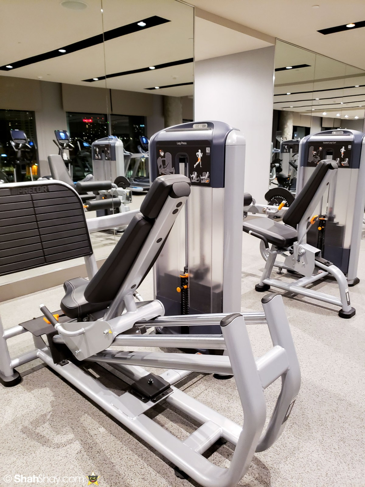 InterContinental San Diego Fitness Center - Lots of machines