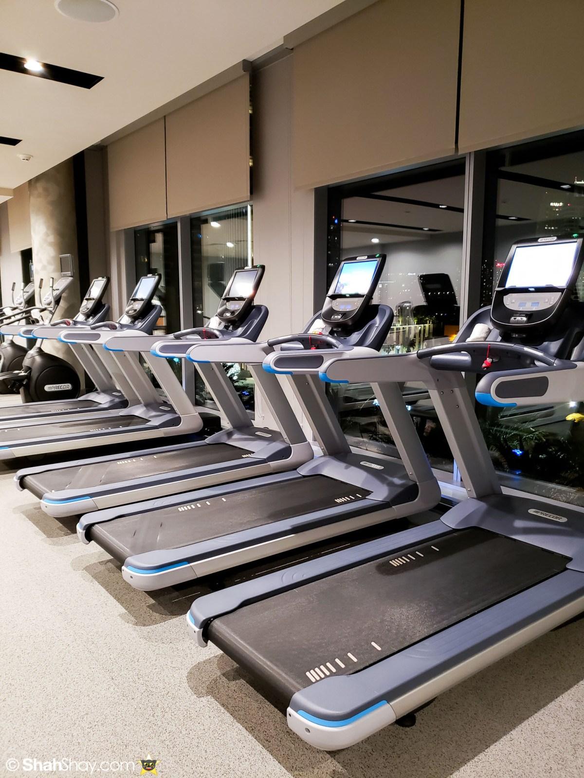 InterContinental San Diego Fitness Center - Treadmills