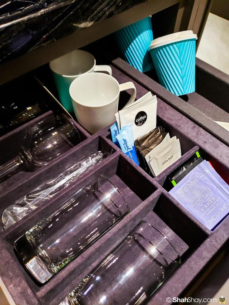 Le Méridien Suite Review at The Le Méridien Kuala Lumpur - coffee and tea