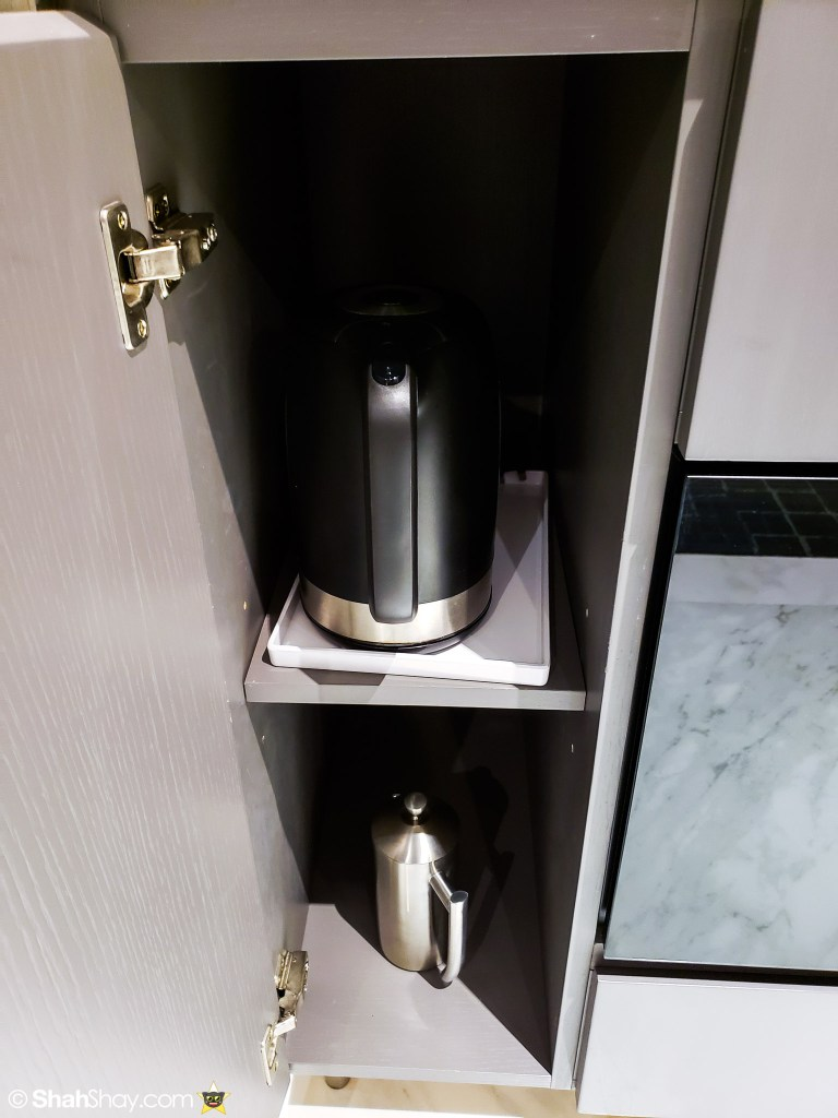 Le Méridien Suite Review at The Le Méridien Kuala Lumpur - kettle