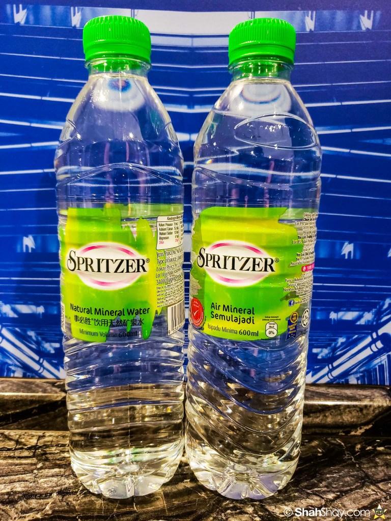 Le Méridien Suite Review at The Le Méridien Kuala Lumpur - spritzer mineral water
