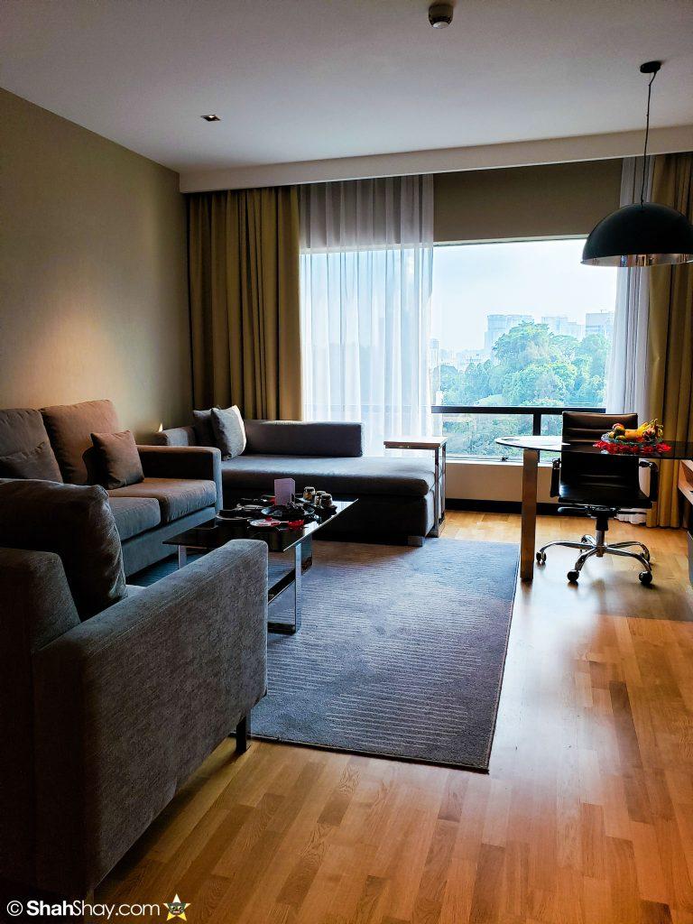 Renaissance Kuala Lumpur Executive Suite - Living Room