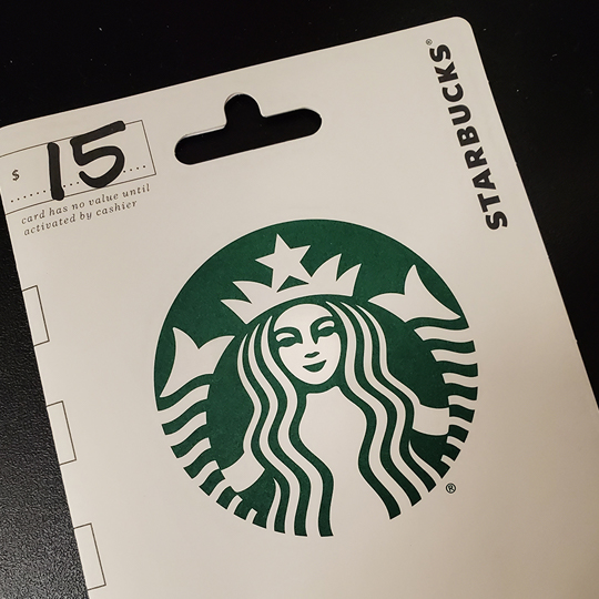 Free $5 Amazon Promo Credit with $30 Starbucks Gift Card Purchase