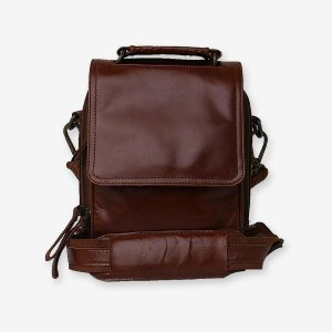 Kameron Cross Body Leather Bag For Women Front