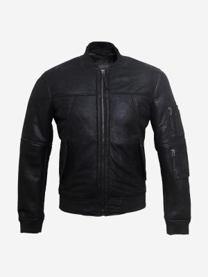 Casual Insert Collar Jacket-front