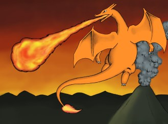 Charizard Added Space4