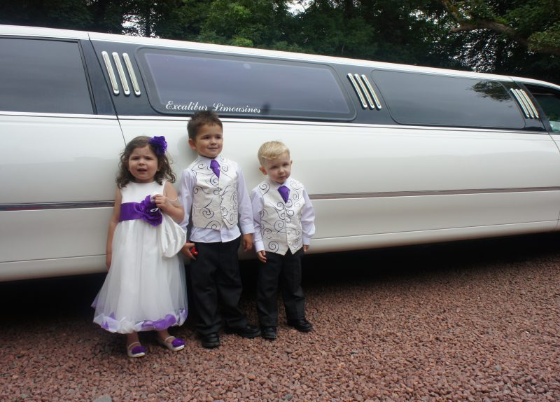 Neices and Nephews and a limo