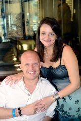 David and I at the Best Brunch in Dubai!