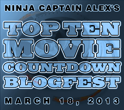 My Top Ten #Movie Countdown Blogfest